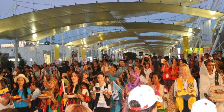 Desfile en Expo Mil�n