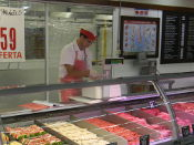 Productos no c�rnicos en carnicer�as