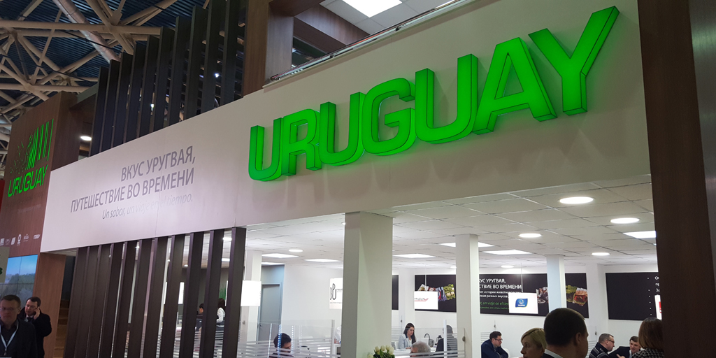Highlight of Uruguay's booth at ProdExpo Moscow