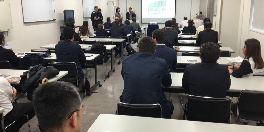 Presentación de Uruguay en Japón