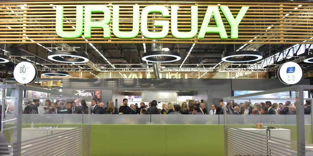 Intensa actividad de Uruguay en Sial París