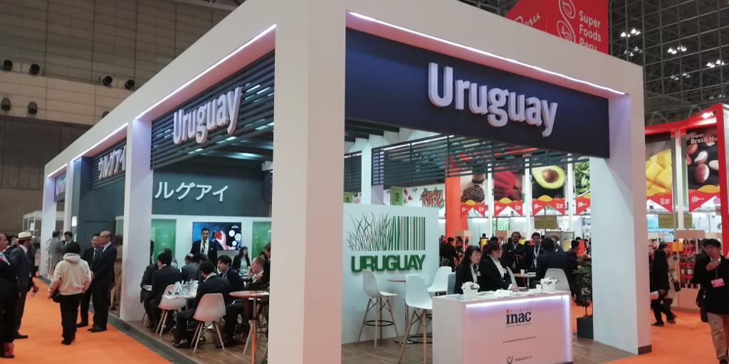 Inaugurado el Stand de Uruguay y de Carnes del Uruguay en Japón