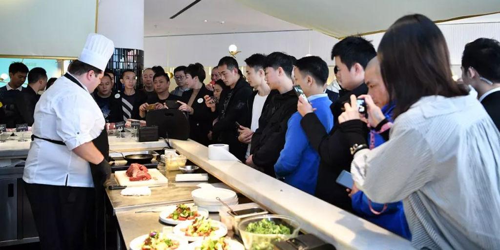 Promoción de Carnes del Uruguay en Chengdu, China.