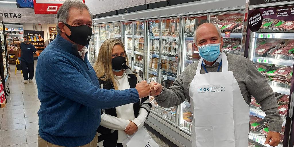 INAC realizó una gira por carnicerías por el Día de la Carne.
